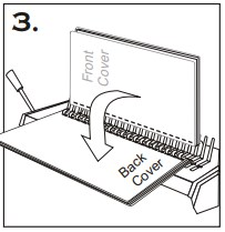 CombMac 24E Comb Binding Instructions
