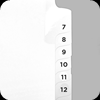 Numbered Index Tabs