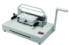Atlas 300 Metal Binding System & foil press combines document binding with hot foil stamping, delivering an economical, all-in-one solution for premium document presentations