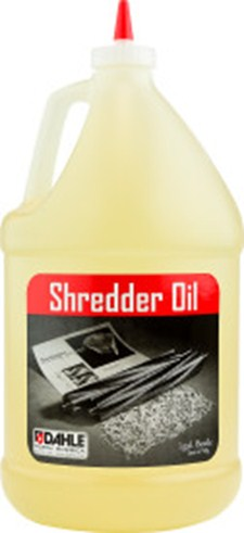 Dahle 20722 Shredder Oil, (4) 1 Gallon Bottles