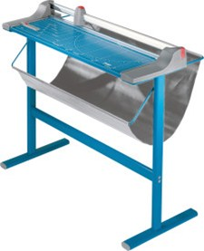 "Dahle 446s Large Format Premium Rolling Trimmer, 36 1/8"" cutting length, includes stand"