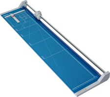 "Dahle 558 Professional Rolling Trimmer, 51-1/8"" cutting length"