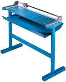 "Dahle 558s Large Format Professional Rolling Trimmer, 51 1/8"" cutting length, includes stand"