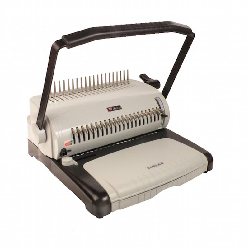 Binding supplies machines repair and branding solutions akiles ecobind comb binding machine malvernweather Gallery