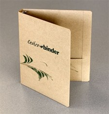 The Enviro-Binder the eco- conscious alternative to a vinyl binder