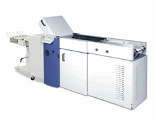 Formax FD 2300 air feed system holds up to 500 forms