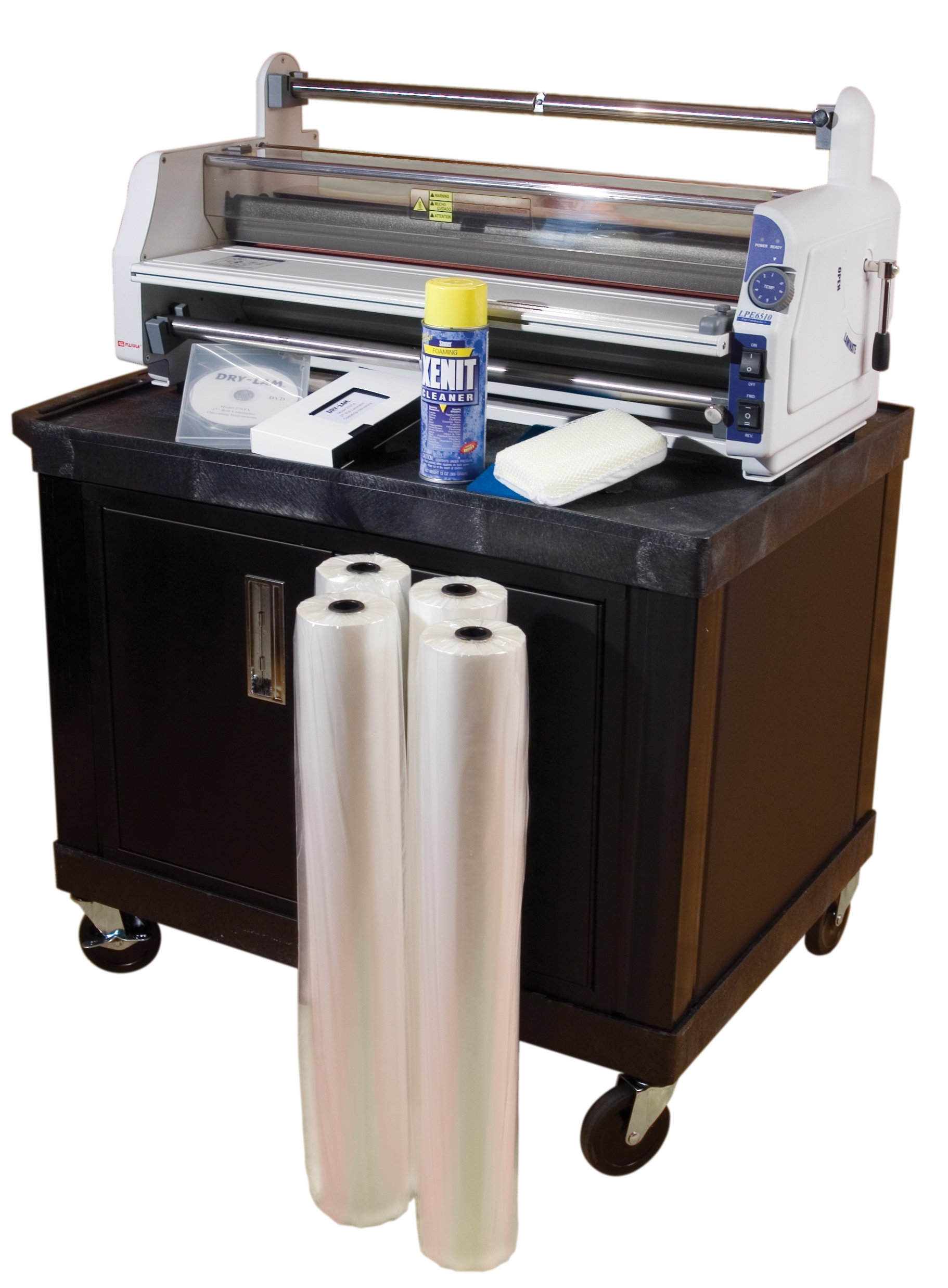 "Fujipla LPE6510 Laminating System – 25"" School Laminating System with Cart and Supplies"