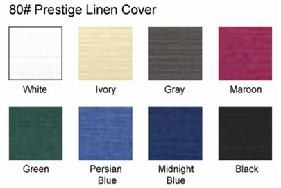 Prestige Linen Thermal Binding Covers