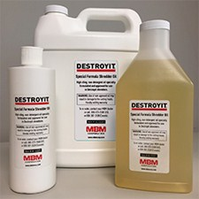 MBM Destroyit Shredder Oil