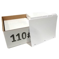110# Index Tabs with Printable Inserts