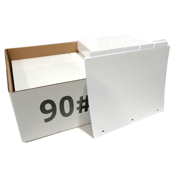 image regarding Printable Index Tabs called Blank Higher Pace Copier Tabs 90 lb. (Offered through carton)