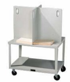 Paper stock cart 500 pound capacity