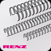 Black Renz Wire Binding