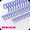 Blue Renz Wire Binding