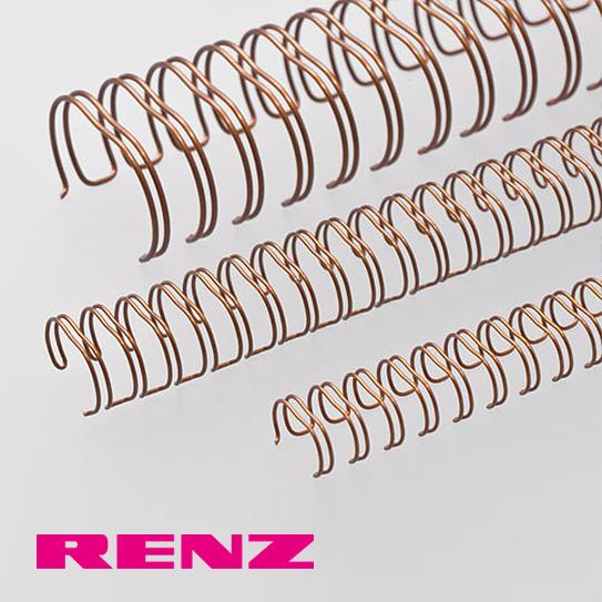 Twin Loop Wire Binding, Standard Or Renz Premium (Box Of