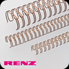 Bronze Renz Wire Binding