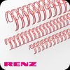 Red Renz Wire Binding