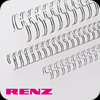 Transparent Renz Wire Binding